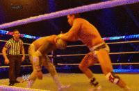 alberto_del_rio autoplay_gif cross_armbreaker gif main_event mask referee sin_cara tapping wwe // 200x132 // 1.6MB