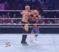 Killswitch autoplay_gif cartwheel christian damien_sandow gif smackdown wwe // 200x178 // 1.4MB