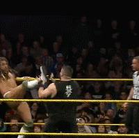 CJ_Parker Kevin_Owens NXT_Take_Over_REvolution autoplay_gif blood gif kevin_steen nxt wwe // 200x198 // 3.0MB