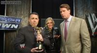 Renee_Young The_JBL_And_Cole_Show john_bradshaw_layfield michael_cole slammy_award suit wwe // 854x470 // 102.6KB