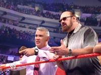 "Raw Ricky_""The_Dragon""_Steamboat hillbilly_jim pointing sgt._slaughter sunglasses wwe // 424x318 // 233.5KB"