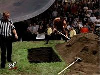 autoplay_gif burial earl_hebner gif referee shovel smackdown the_rock wwf // 200x150 // 1.1MB