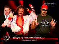 William_Regal bad_blood eugene jonathan_coachman match_card sunglasses wwe // 256x192 // 9.9KB