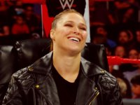 Raw Ronda_Rousey laughing smiling wwe // 424x318 // 180.6KB