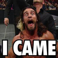 Seth_Rollins came elimination_chamber macro wwe yelling // 295x295 // 42.8KB