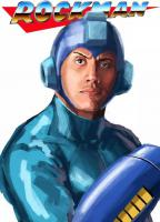 fanart mega_man sony_tran the_rock video_game // 599x828 // 57.5KB