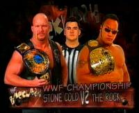 backlash frowning match_card raised_eyebrow referee shane_mcmahon smoking_skull_belt stone_cold_steve_austin sunglasses the_rock wwf wwf_championship // 424x346 // 65.9KB