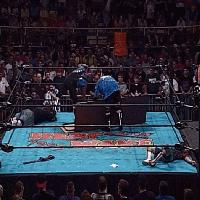 Heat_Wave Joel_Gertner autoplay_gif bubba_ray_dudley devon dudley_boyz ecw gif spike_dudley table // 200x200 // 2.2MB