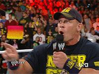 Raw aj_lee arms_folded autoplay_gif big_e dolph_ziggler gif hat john_cena ladder microphone money_in_the_bank_briefcase pointing wwe // 200x150 // 3.7MB