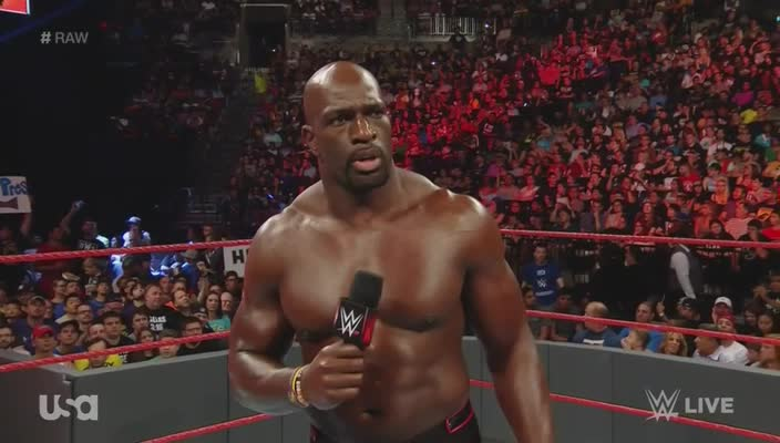 Raw microphone pointing titus_o'neil webm wwe // 704x400 // 8.3MB