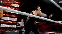 Roman_Reigns Stomping_Grounds drew_mcintyre gif shane_mcmahon wwe // 470x257 // 2.9MB