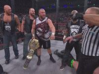 Aces_&_Eights D.O.C. Knux TNA_World_Heavyweight_Championship autoplay_gif bully_ray devon earl_hebner gif lockdown referee tna yelling // 200x150 // 902.0KB